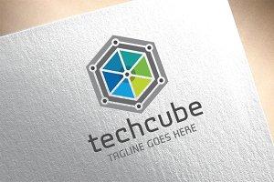 Techno Cube Logo