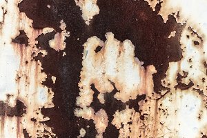Brown rusted surface abstract backgr