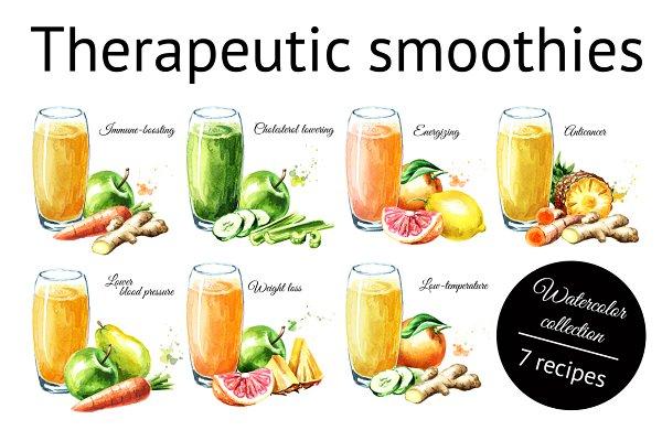 Therapeutic smoothies