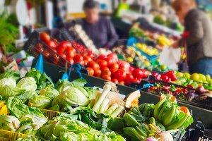 Vegetable Bolhao market Portugal