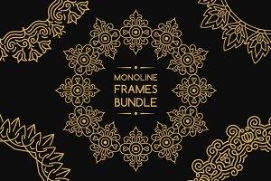 25 Monoline Frames