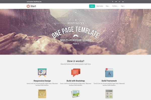 WordPress Business Themes: YoArts - Start ~ Multi-Purpose WP Theme