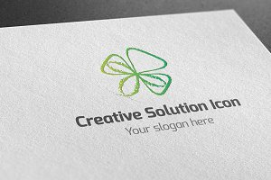 Creative Solution Icon Logo