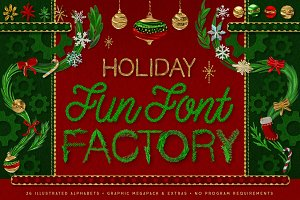 Christmas Lettering, Graphics, Fonts