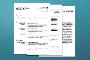 Resume Template - V01