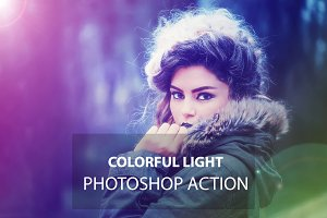 Colorful Light Photoshop Action