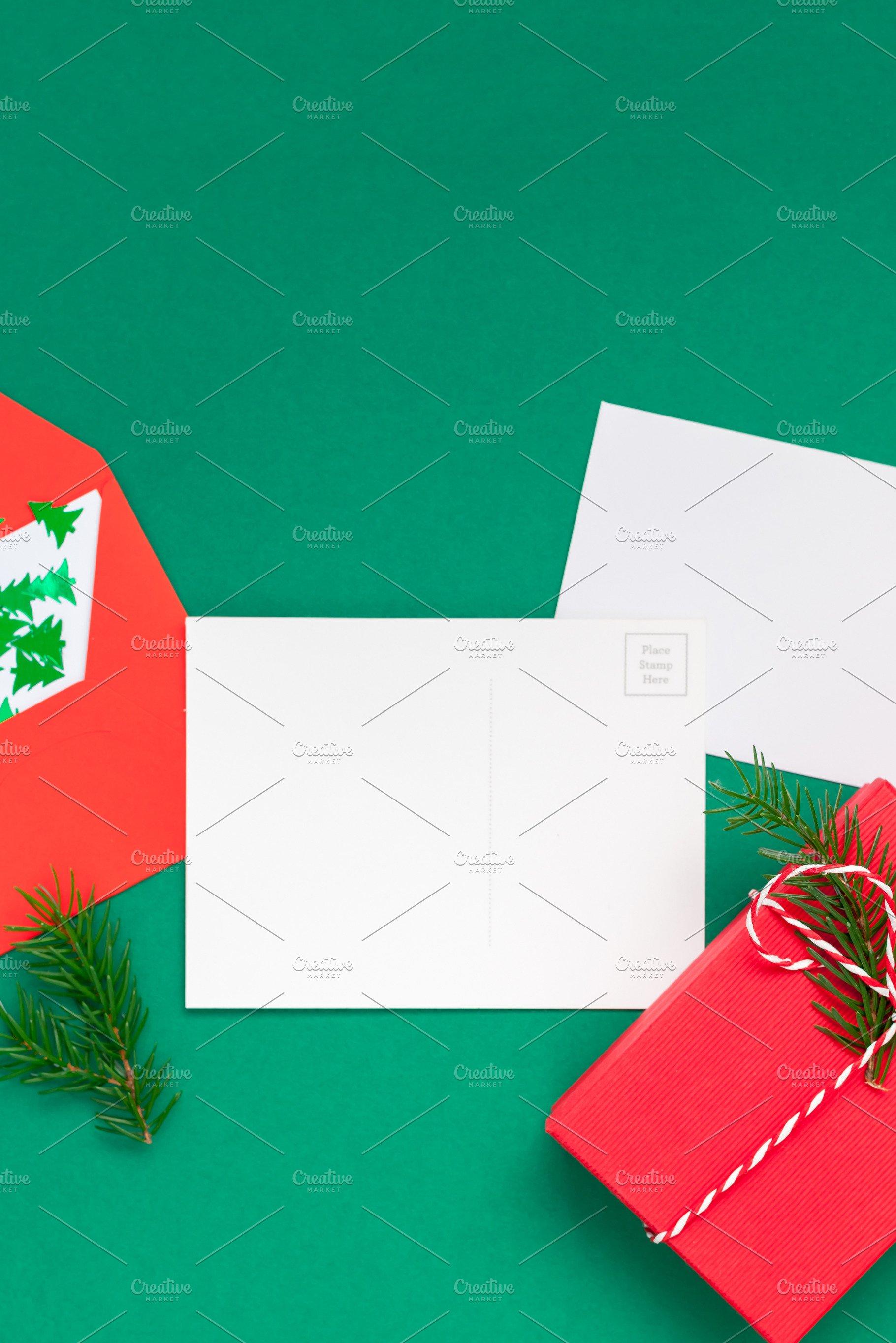 Christmas Greetings Letter.Christmas Greetings Letter Mockup