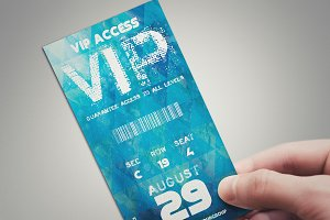 Blue Summer - VIP PASS CARD