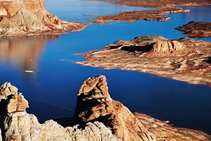 Alstrom Point, Lake Powell, USA