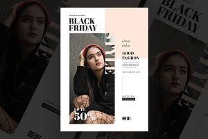 Discount Fashion Flyer Templates