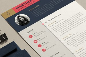 Resume Template | Martina