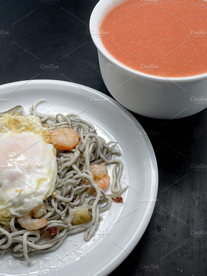 Baby eels.Traditional Spanish tapa - Food & Drink