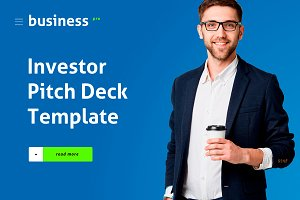 Investor Pitch Deck Template Keynote