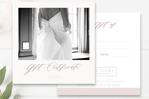 Studio Gift Card Template