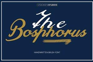 The Bosphorus Brush Font