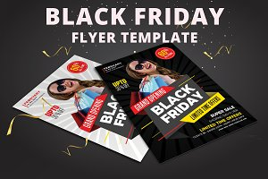 Black Friday Sale Flyer Templates