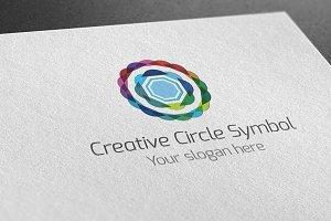 Creative Circle Symbol Logo