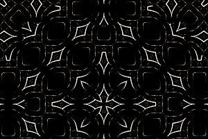 Dark Geometric Decorative Seamless P