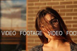 Slow motion portrait of a business