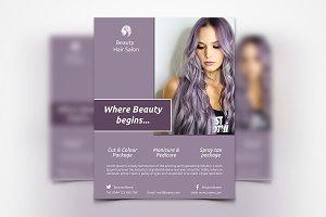 Hair Style Flyer - SK