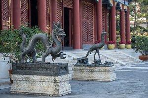 Dragon statue at Summer Palace
