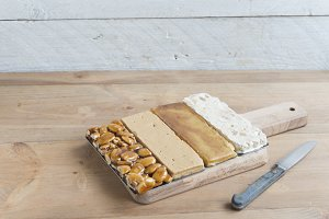 Turron typical dessert spain