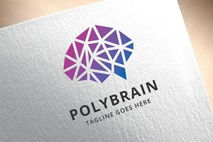 Polygon Brain Logo
