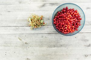 fresh bio red currant
