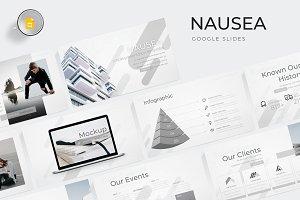 Nausea - Google Slides Template