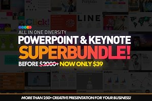 250+ PowerPoint Templates Bundle