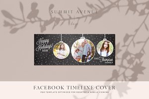 Holiday Facebook Timeline Cover