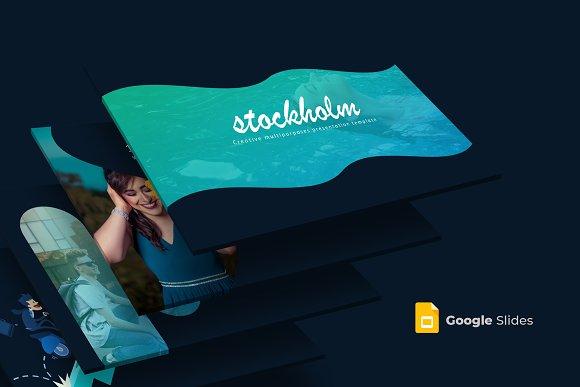 stockholm google slides template presentation templates