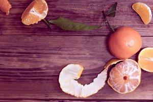 frame from tangerines