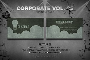 Corporate Business Card Vol. 05
