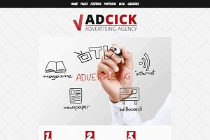 Adcick - Advertising Agency WP Theme