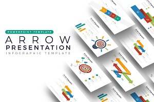 Arrow Presentation - Infographic Tem