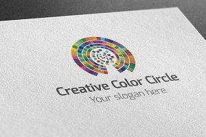 Creative Color Circle Logo