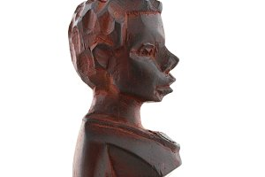 Wooden sculpture from Africa