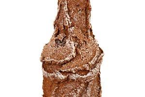Brown mini bottle
