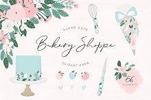 Cute Bakery Shoppe Clipart
