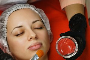 Cosmetology. Moisturizing mask