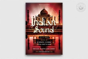 Indian Sound Flyer Template