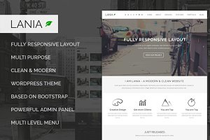 Lania - Responsive WordPress Theme
