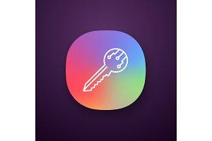 Private digital key app icon