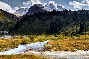 Mountains of Kazakhstan