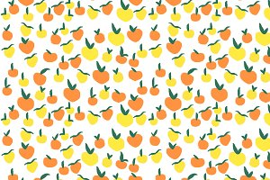 Lemons and Oranges Handmade Pattern