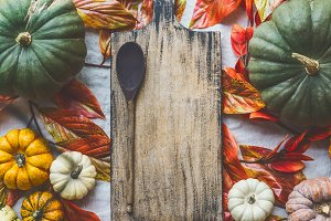 Autumn cooking background