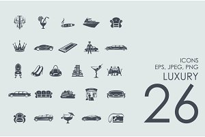 26 luxury icons