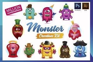 Monsters Creative Kit