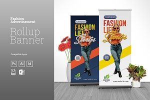Fashion Rollup Banner